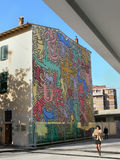 Arte de Keith Haring 1958 - 1990 Imágenes de archivo libres de regalías