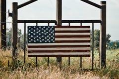 Arte de la bandera americana Foto de archivo