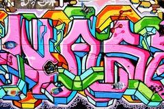 Arte de la calle. Fotografía de archivo