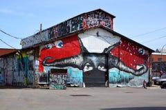 Arte de la calle Imagen de archivo libre de regalías