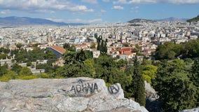 Arte de la calle de Atenas Grecia Imágenes de archivo libres de regalías