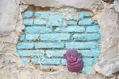 Arte de la calle de GEORGETOWN, PENANG, MALASIA 9 de agosto de 2015 en la pared i Imagen de archivo