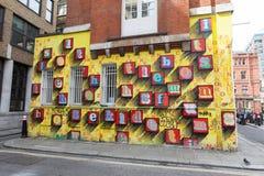 Arte de la calle de Londres Fotografía de archivo