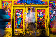 Arte de la calle de New Orleans Imágenes de archivo libres de regalías
