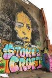 Arte de la calle en Bristol, Reino Unido Fotografía de archivo