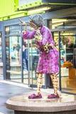 Arte de la calle en Christchurch, Nueva Zelanda imágenes de archivo libres de regalías