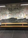 Arte de la calle en Estocolmo Fotos de archivo libres de regalías