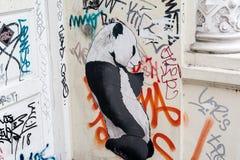Arte de la calle en Hamburgo Fotografía de archivo libre de regalías