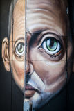 Arte de la calle en Lisboa Portugal fotos de archivo