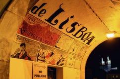 Arte de la calle en Lisboa, Portugal imagen de archivo libre de regalías