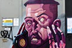 Arte de la calle en Londres, Reino Unido Fotos de archivo libres de regalías