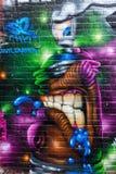 Arte de la calle en Londres, Reino Unido Imagenes de archivo
