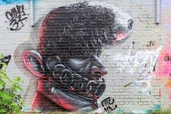 Arte de la calle en Londres, UKr Fotografía de archivo libre de regalías
