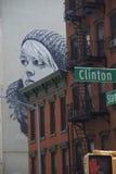 Arte de la calle en Nueva York Imagen de archivo libre de regalías