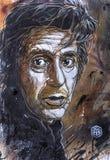 Arte de la calle en Palermo Imágenes de archivo libres de regalías
