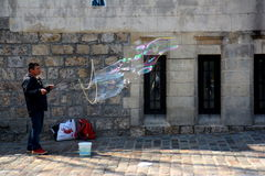Arte de la calle en París Foto de archivo libre de regalías