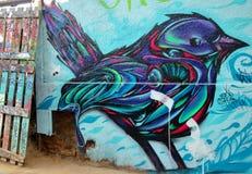 Arte de la calle en ValparaÃso fotos de archivo libres de regalías