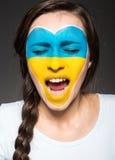 Arte de la cara indicadores Imagenes de archivo
