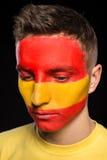 Arte de la cara indicadores Fotos de archivo