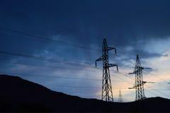 Arte de la electricidad Fotografía de archivo