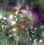Arte de la flor Imágenes de archivo libres de regalías
