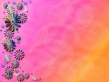 Arte de la flor del resorte Imágenes de archivo libres de regalías