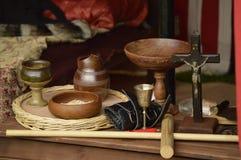 Arte de la historia, religioso y de la mano Fotos de archivo libres de regalías