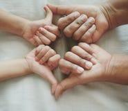 Arte de la mano Fotografía de archivo libre de regalías