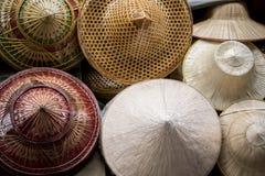 Arte de la mano del arte material de bambú asiático Fotos de archivo libres de regalías