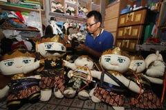 Arte de la marioneta de Wayang Fotografía de archivo libre de regalías