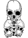 Arte de la obscuridad del vector. stock de ilustración