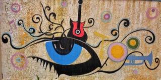 Arte de la pared imágenes de archivo libres de regalías