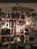 Arte de la pared del vintage fotografía de archivo libre de regalías