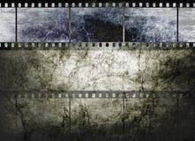 Arte de la película de la vendimia en fondo textured oscuro libre illustration