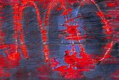 Arte de la pintada Fotos de archivo