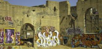Arte de la pintada en California Imagenes de archivo