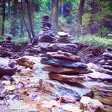 Arte de la roca Fotografía de archivo libre de regalías