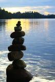 Arte de la roca Fotografía de archivo