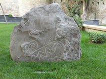 Arte de la roca Foto de archivo libre de regalías