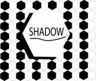 Arte de la sombra de los gráficos Fotografía de archivo libre de regalías