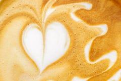 Arte de Latte Imagens de Stock