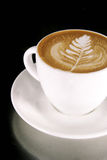 Arte de Latte Imágenes de archivo libres de regalías