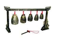 Arte de los handbells-Feng-shui Imagen de archivo libre de regalías
