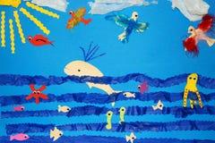 Arte de los niños foto de archivo libre de regalías