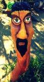 Arte de madera Fotografía de archivo