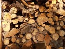 Arte de madera del diseño Fotografía de archivo