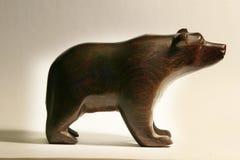 Arte de madera del oso Imagen de archivo libre de regalías