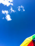 Arte de nubes con color Imágenes de archivo libres de regalías