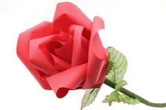 Arte de papel del origami de la flor de Rose Fotos de archivo
