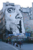 Arte de Paris foto de stock